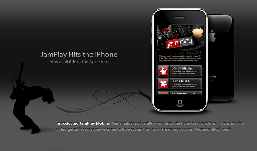 JamPlay iPhone iPad Guitar App